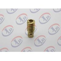 0.01KG CNC Precision Machined Parts, Small Brass Hollow Bolt For Electronic Equipments