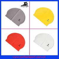 Best OEM/Bargin Price Hot Sale Solid Latex Swim Cap wholesale