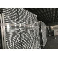 Best Hot dipped Galvanized Temporary Fence Panels 2.1mx2.4m customized mesh 60mm*150mm wholesale