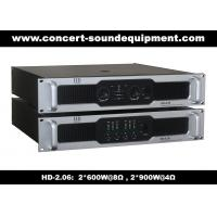 China 2x600W Stable Analog Audio Amplifier For Living Event, Conference, Church and Concert on sale