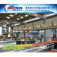 Best Plastic PVC+ASA/PMMA colonial roofing tile/panel/sheet/shingle extrusion equipment wholesale