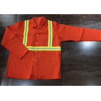 China Nomex Flame Resistant Protective Clothing Firehouse Radiation Protection on sale