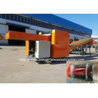 China Fishing Wire Nets Airbag Cloth Industrial Waste Shredder Cutter With Sharpening on sale