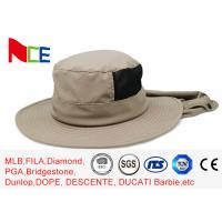 Best Joint Khaki Fishman Bucket Hat Protect neck from sunburn With Adjustable wholesale