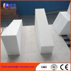 Best High Temperature Stability Corundum Brick / Durable Heat Resistant Bricks wholesale