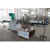 Best Semi - Automatic 1L Drinking Liquid Water Bottle Filling Machine / Bottling Packing Line wholesale