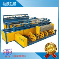 Best 1.4mm - 4.5mm Stainless Wire /  PVC Full Automatic Chainlink Fence Weaving Machine wholesale