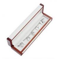 Best Matte Painting Wooden Gift Boxes , Bracelet Woodworking Jewelry Box For Gifts wholesale