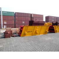 Best Stone Vibration Screen Equipment With Jaw Crusher 16.2Hz Vibrating Frequency wholesale