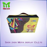 Best Customized Recycled Book Gift Packaging Boxes With Ribbon Cardbaord Paper wholesale