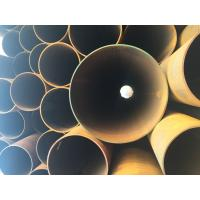 Best API 5L X42 X52 X60 ERW Steel Pipe Straight Steel Oil / Gas Line Pipe 6 - 25mm Thick wholesale