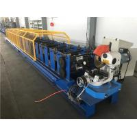 Best 18 Steps Type Downspout Pipe Roll Forming Machine 300mm Coil Width wholesale