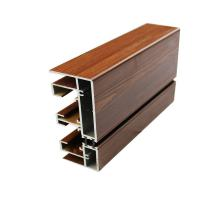 details of 20 x 80 aluminum glass frame extrusion wood
