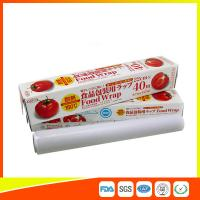 Best Ovenproof PE Cling Film For Food Wrap , Stretch Wrapping Plastic Roll wholesale