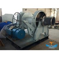 Best 30T One Drum Marine Electric Winch 38mm Mooring Winch With One Warping Head wholesale