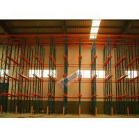 Warehouse Storage System Drive In Racking For Large Volume Identical Goods