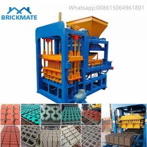PLC QT4-18 QT4-25 automatic hydraulic concrete block making machine price in ahmedabad bangalore dubai