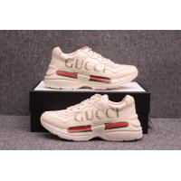 Best 【wechat  cx2801f】Gucci Rhyton Vintage Trainer Sneaker wholesale
