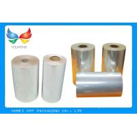 Best High Shrinkage 45 MICRON Transparency PVC Shrink Film For Label Printing wholesale