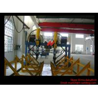 Best Heavy Duty SAW H Beam Welding Machine LHA Gantry Type 5.5m Rail Span With Moving Trolley wholesale