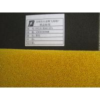 China Flame Retardant Polyurethane Oil And Water Filter Foam Customized on sale