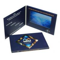 High End 7 Inch Lcd Video Brochure , Custom Gift Greeting Cards 800*480 Pixels Resolution