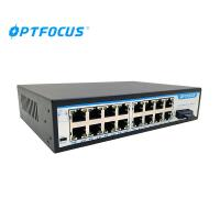 Best Multi Ports Fiber Optic Switch 1000 Base - X With Redundant Dual DC Power Inputs wholesale
