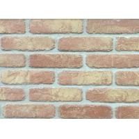 Quality 5D20-8 Handmade Clay Thin Veneer Brick For House Building Faux Brick Wall wholesale