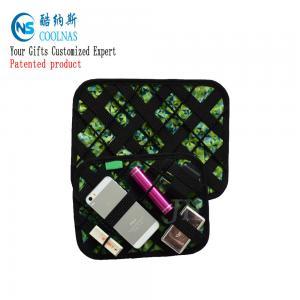 Best Eletronic GRID Gadget Organizer , Travel Cable Gadget Organiser Bag wholesale