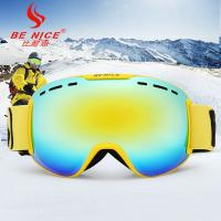 Best OTG Multicolor Lenses Snow Ski Goggles with Wind Dust UV 400 Protection wholesale