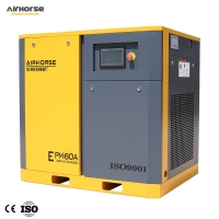 Best 60HP Power saving screw air compressor with Permanent Magnet Synchronous Motor 145psi wholesale