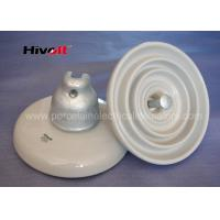Quality ANSI 52-3 White Disc Suspension Insulator For Distribution Power Lines wholesale