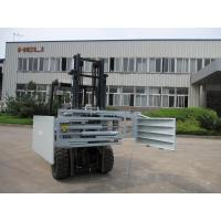 China Warehouse 3.0 - 4.5 ton Forklift Bale Clamp With single & double pallet handlers on sale