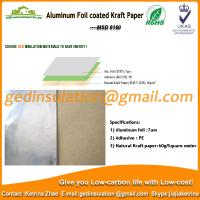 Best Widely use Aluminum foil coated kraft paper reflective insulation for roof wholesale