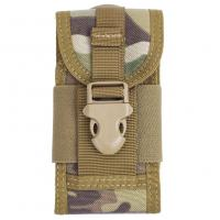 Quality Cell Phone Tactical Waist Pack Hiking , Molle Waist Pack Nylon wholesale
