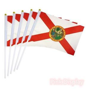 Best PVC Pole State 8.2x5.5'' Hand Waving Flag wholesale
