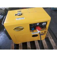 China Custom 7KVA 3 Phase Small Diesel Generators , Small Quiet Diesel Generator on sale