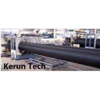 Best Water Supply / Gas Supply Large Diameter HDPE Pipe Extrusion Equipment  Line 480 Kgs / H wholesale