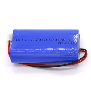Best Rechargeable CC CV MSDS 5200mAh Li Ion 3.7 V Battery wholesale