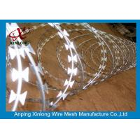 Best Stainless Steel BTO-22 Concertina Razor Wire / Security Barbed Wire wholesale