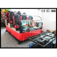Best Mini 5D Cinema Equipment for 9 People , Hydraulic Power System wholesale