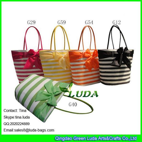 Details Of Luda Large Bowknot Hobo Handbag Fashion Paper