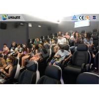 Best 8 Years Chinese Manufacturer Cinema Equipment Of 5D Cinema Equipment With Fiber Glass Seats wholesale