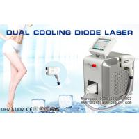 Buy cheap Dual Cooling Diode Laser Hair Removal Machine / 808nm Diode Laser For Distributo from wholesalers