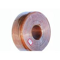 Buy cheap Copper Litz Wire Loudspeaker Cable , Transparent Sheath PVC Insulated Cables from wholesalers