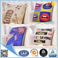 Best Natural Color Digital Printing 100% Cotton Decorative Cushion Covers for Home Decoration wholesale