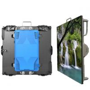 Best Black PH3.91MM LED Display Cabinet UL 2500 nits IP43 1R1G1B SMD2121 DVI 65410 pixels Flight case W 250 × H 250 mm wholesale