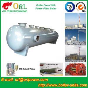 Best Waste Heat Boiler High Pressure Drum , Boiler Unit ORL Power High Performance wholesale