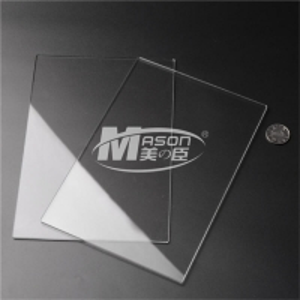 Best Mason Heat Resistant Clear Acrylic Plastic Sheets pespex For Sneeze Guard wholesale