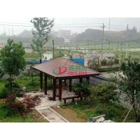 Best Prefabricated Square Custom Made Gazebo Environmental Friendly Color Stability wholesale